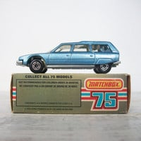 Vintage Matchbox Car 12 Citroen CX Man Toy by RhettDidntGiveADamn