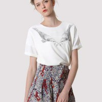 Peace Dove Chiffon T-Shirt  S010582