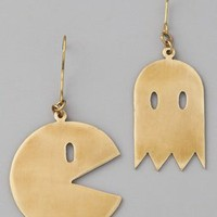 Monserat De Lucca Pac Man Earrings | SHOPBOP