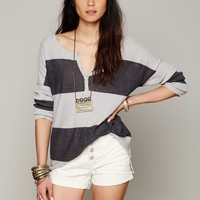 Free People In a Row Henley