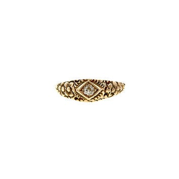 Doyle & Doyle | Ring: Victorian Diamond Ring, Old Euro 0.13ct