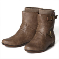 hit the road ankle boots