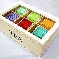 tea display box by bellevue tea