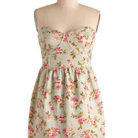 You Were Mint for Me Dress | Mod Retro Vintage Printed Dresses | ModCloth.com