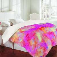 DENY Designs Home Accessories | Amy Sia Electrify Pink Duvet Cover