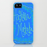 Hakuna Matata iPhone Case by Kayla Gordon | Society6