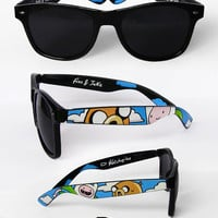 Adventure Time Sunglasses - Custom Wayfarer style sunglasses unique hand painted - Finn and Jake