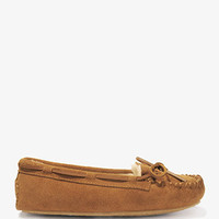 Suede Moccasin Slippers | FOREVER 21 - 2027706120