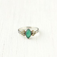 Free People Diamond Stone Ring