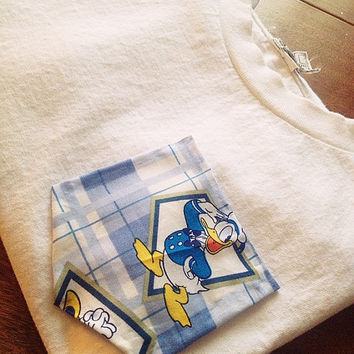 Donald Duck pocket tee