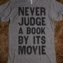 Never Judge A Book By Its Movie - The Coffee Shop