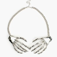 Skeleton Grasp Necklace