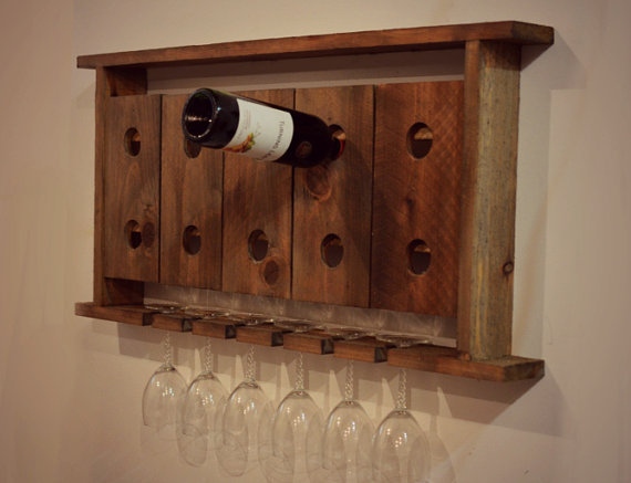 How To Buy Wall Mounted Wine Rack : How To Buy Wall Mounted Wine Rack : Wall Hanging Wine Glass Rack