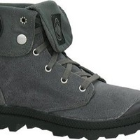 Palladium Baggy Suede Mens Boots 02406-020 Metal 13 M US