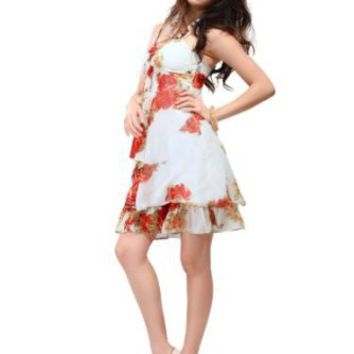 Amazon.com: Ever Pretty Women's Passion Chiffon Floral Short Dress: Clothing