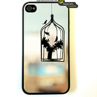 Birdcage - iPhone 4 Case, iPhone 4s Case, iPhone 4 Hard Case, iPhone Case