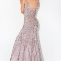 Beaded Designer Prom Dress, Style 3383
