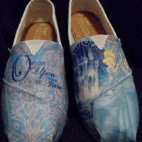 Glitter Cinderella Princess Toms