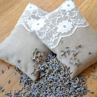 Lavender and Lace Bags French Inspired by bluebellsandbunting