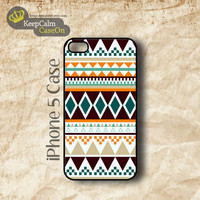 iPhone 5 Case, South Western Aztec iPhone Case Hard Fitted iPhone 5 Case, iPhone 5 Hard Case