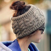 Fashion Woolen Hair Band