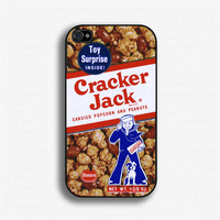 Cracker Jack iPhone case for iphone 4 and 4S by iCaseSeraSera