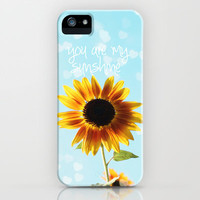 you are my sunshine iPhone Case by Sylvia Cook Photography