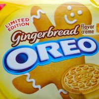 Gingerbread Flavor Creme Oreos ~ Limited Edition!!