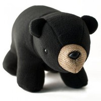 ShanaLogic.com - 100% Handmade  Independent Design! Bernard the Black Bear - New Arrivals