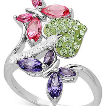 Kaleidoscope sterling silver ring from macys epic wishlist for Macy s jewelry clearance
