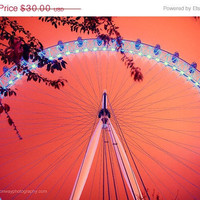 Mothers Day SALE save 10 The London Eye at by HConwayPhotography