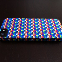 "iPhone 5 Case - ""Flowing Stripes"" Graph Drawing - unique iPhone case, art iPhone case, hipster iphone case, iphone 5 case"