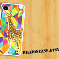 Giraffe Geometic - iPhone 4 Case iPhone 5 Case iPhone 4s Case idea case Galaxy Case Unique case
