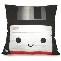ShanaLogic.com - 100% Handmade  Independent Design! Deluxe Floppy Disk Pillow - Best Sellers