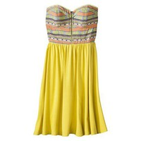 Target : Xhilaration® Juniors Strapless Sweetheart Fit and Flare Dress - Assorted Colors : Image Zoom