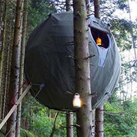 TT PRODUCT/OPTIONS - TREE TENTS - TO GET PEOPLE INTO THE CANOPY; ENJOYING TREES.