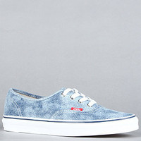 The Authentic Sneaker in Light Denim : Vans Footwear : Karmaloop.com - Global Concrete Culture