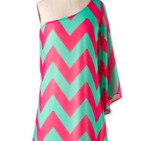 Off Shoulder Zigzag | Studio 706 Boutique