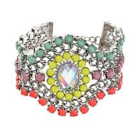 City Lights Oval Stone Bracelet - Jewellery  - Bags & Accessories