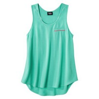 Prabal Gurung For Target Pebble Racerback Tank Top -Atlantis Green
