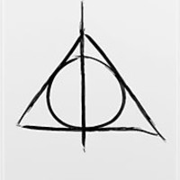 """Deathly Hallows iphone case"" iPhone & iPod Cases by Kate Bloomfield 
