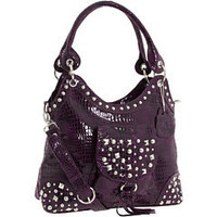 Lou-ella Plum Convertible Tote at 6pm.com