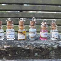 Miniature Wizard Glass Potions Earring Set, Mix or Match