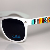 Beaded Sunglasses Tribal Design
