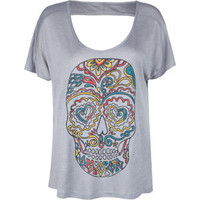 FULL TILT Open Back Womens Boxy Tee 193086110 | tees | Tillys.com
