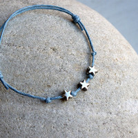 Little Stars Bracelet / Star Anklet (28 colors to choose)