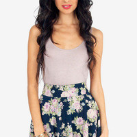 Flowering Fiona Skater Skirt $26