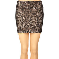 FULL TILT Lace Overlay Womens Skirt 190430100 | clothing | Tillys.com