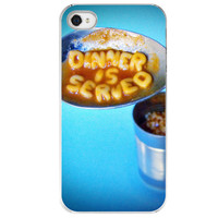 iPhone 4 /4S case Dinner is Served food by SkyeZPhotography