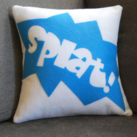 Splat and other fun onomatopoeias by diffractionfiber on Etsy